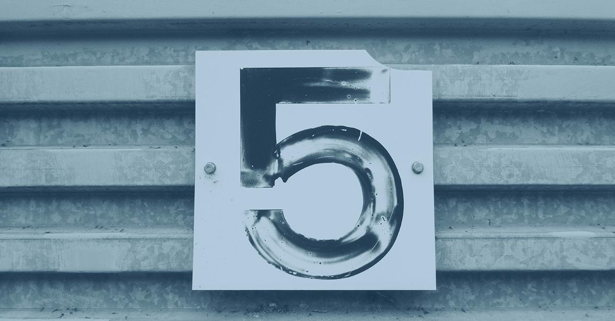 Die Big 5 der Digitalisierung